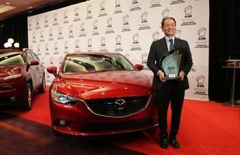 The new Mazda6 on the top of the podium!