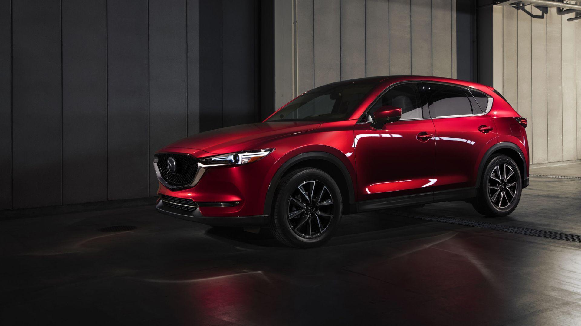 World premiere of the all-new 2017 Mazda CX-5