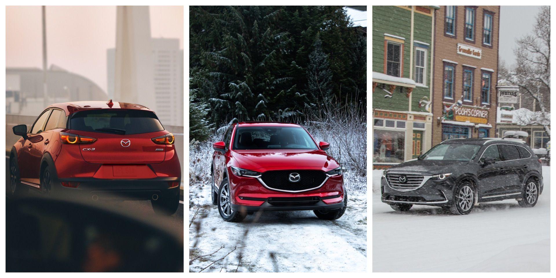 Mazda Canada Set New Sales RecordsWith CX-3, CX-5, And CX-9 In 2018
