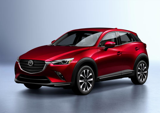 THE 2019 MAZDA CX-3 IS HERE!