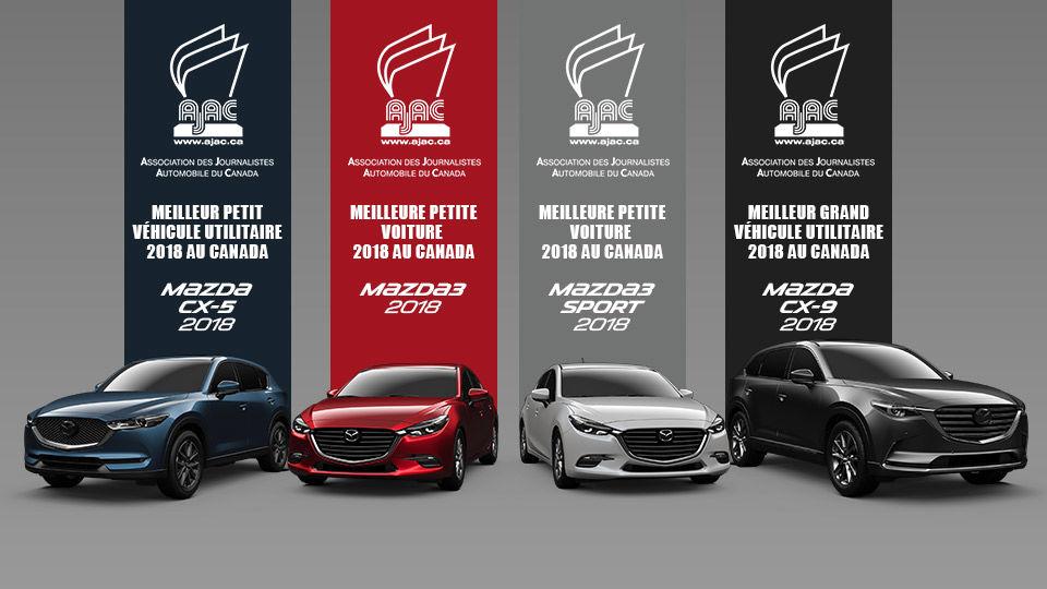 Mazda AJAC Awards 2018