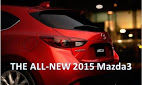 The 2015 Mazda3 Has Arrived