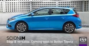 Scion Arrives at Bolton Toyota