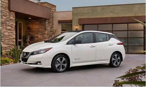 2018 Nissan LEAF Introduced