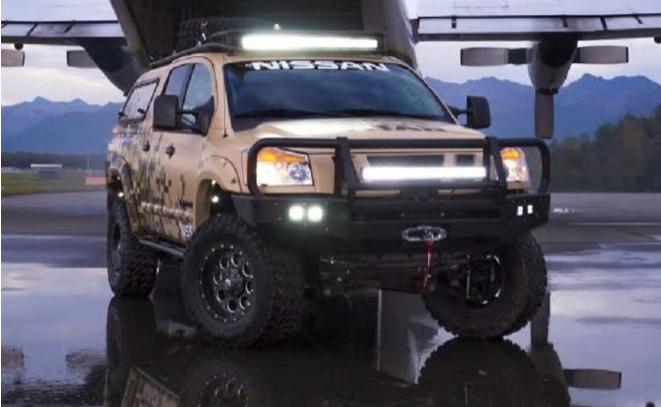 Nissan Project Titan truck Debut