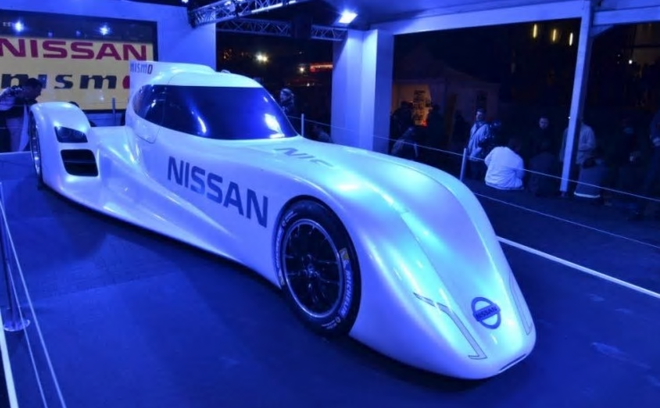 Nissan Unveils World's Fastest Electronic Racer