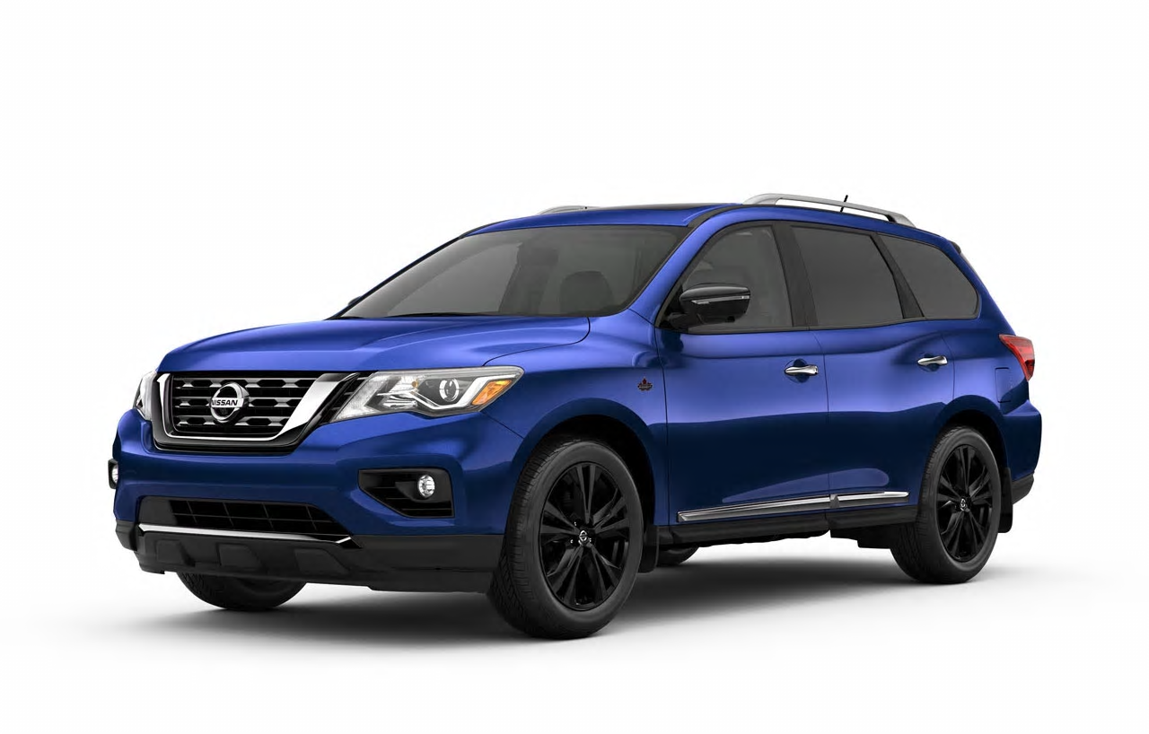 Nissan Canada Adds New Platinum Midnight Edition to 2017 Pathfinder Lineup