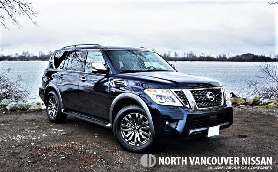 2018 Nissan Armada Platinum Reserve Road Test Review