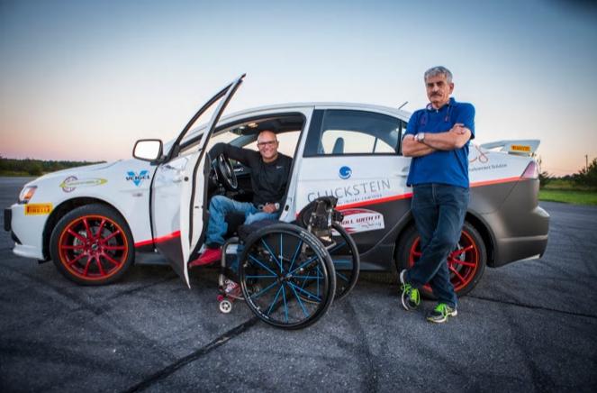 Mitsubishi Lancer Ralliart and Roll With It Racing Team Bound for Targa Newfoundland