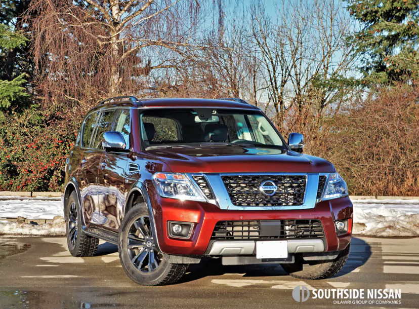 2017 NISSAN ARMADA PLATINUM ROAD TEST REVIEW