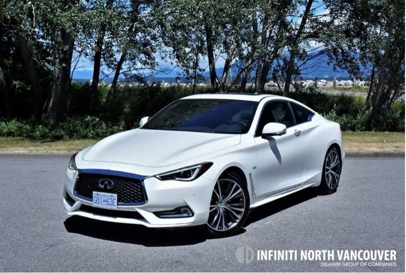 2018 INFINITI Q60 3.0T Luxe AWD Road Test Review