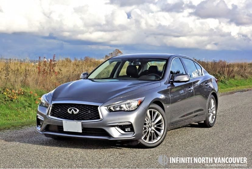 2018 INFINITI Q50 3.0T AWD Luxe Road Test Review