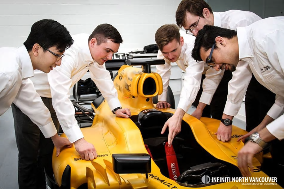 INFINITI Offers Formula One Dream Jobs to Aspiring Engineers