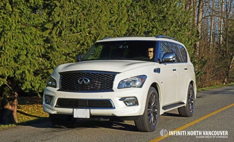 2016 INFINITI QX80 Road Test Review