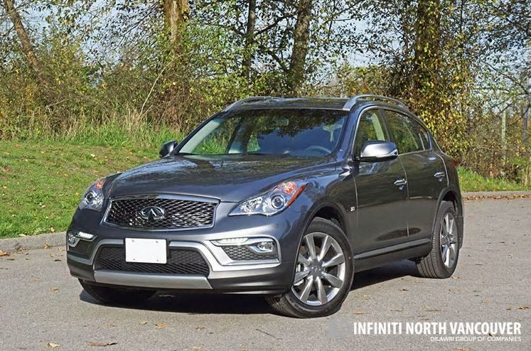 2016 INFINITI QX50 AWD Road Test Review