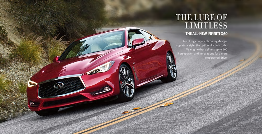 The All-New INFINITI Q60 Is Now Available for Pre-Order