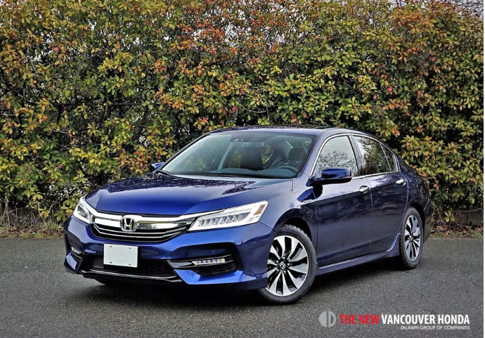 2017 Honda Accord Hybrid Touring Road Test Review