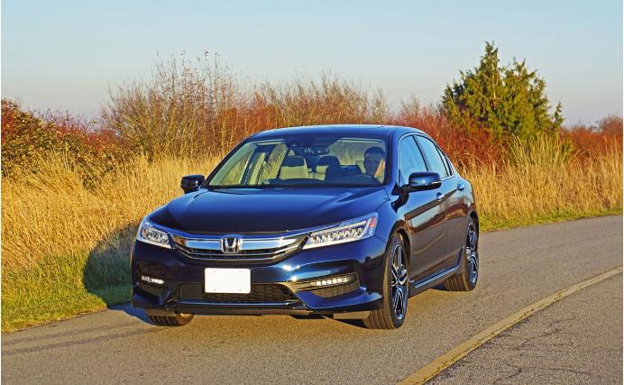 2017 Honda Accord Sedan Touring Review