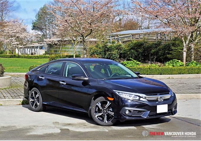 2017 Honda Civic Sedan Touring Road Test Review
