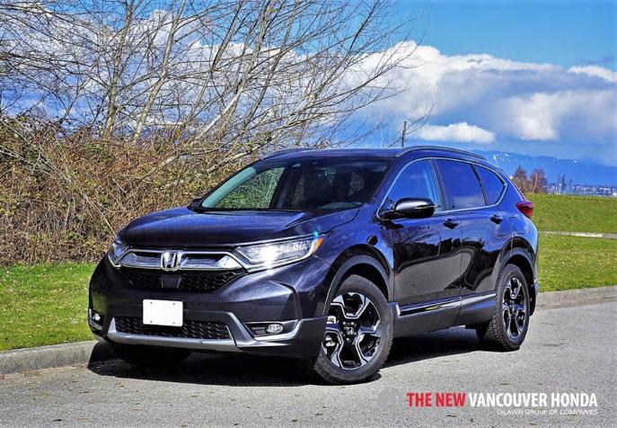 2017 Honda CR-V Touring Road Test Review