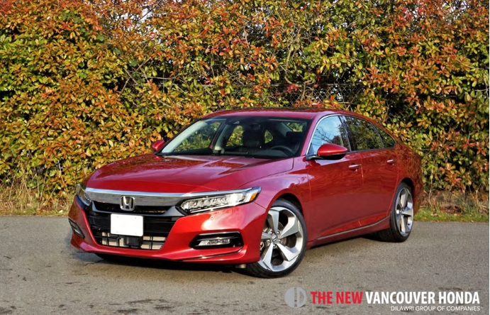2018 Honda Accord 1.5T Touring Road Test Review