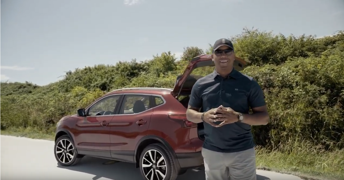 Geroy Simon and The 2019 Nissan Qashqai