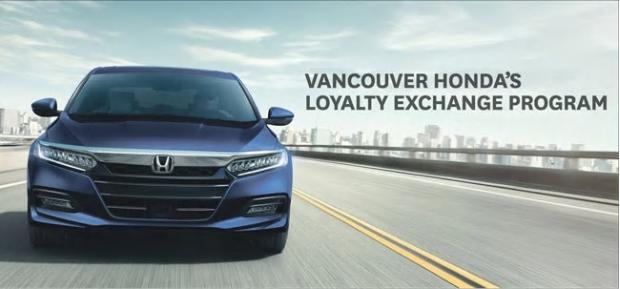 Vancouver Honda's Loyalty Exchange Program