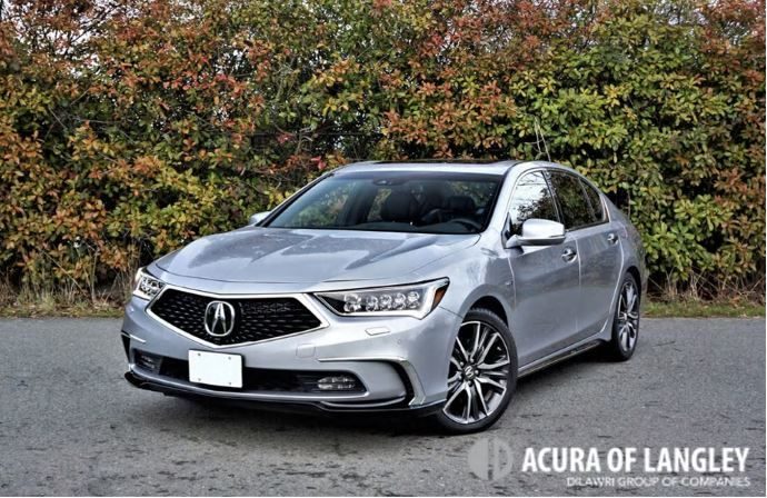 2018 Acura RLX Sport Hybrid Elite Road Test Review