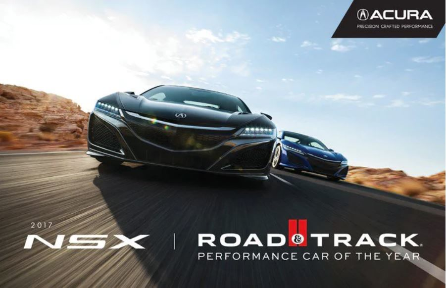 NSX is Performance Car of the Year