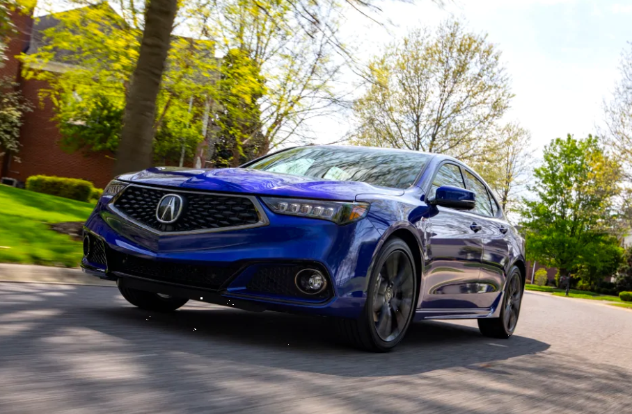 2019 TLX Now Gets Four-Cylinder Version of Its Sporty A-Spec Trim