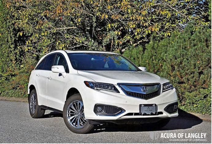 2017 Acura RDX Elite Road Test Review