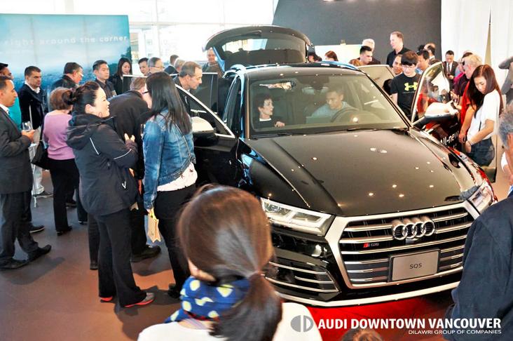 Audi Downtown Vancouver | Audi Downtown Vancouver unveils
