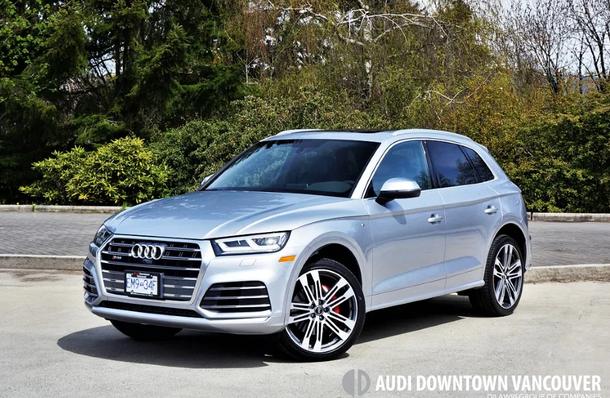 Audi Downtown Vancouver | 2018 Audi SQ5 3 0 TFSI Quattro