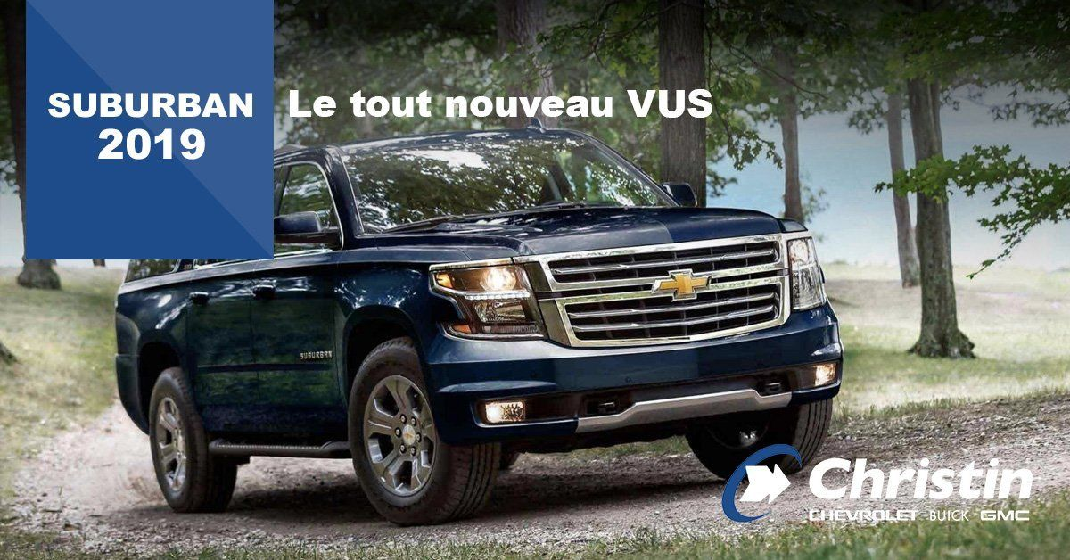 Christin Chevrolet Buick Gmc In Montreal The 2019 Chevrolet