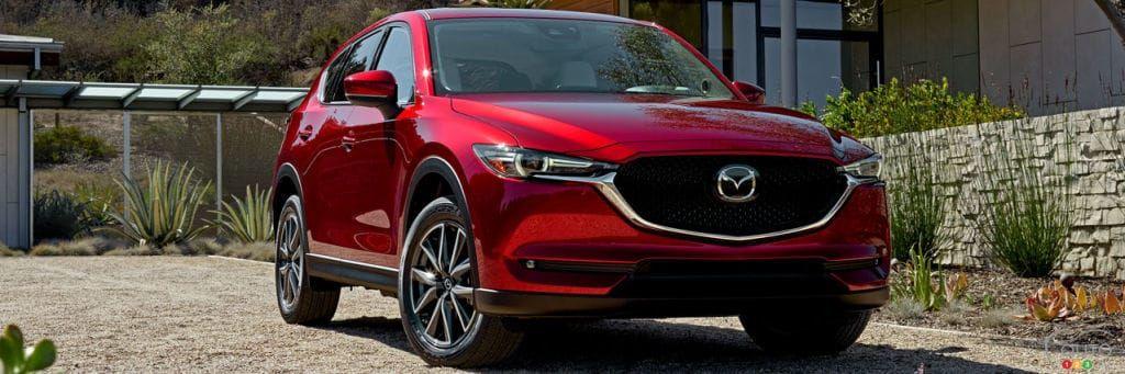 Mazda CX-5, VUS compact de l'annee 2018