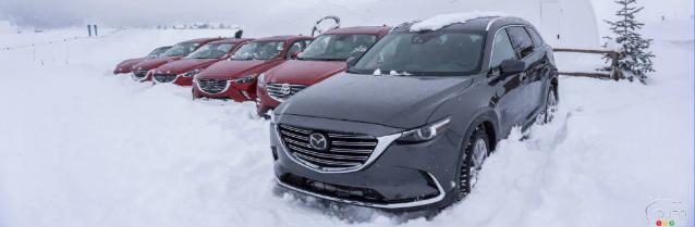 Mazda Ice Academy : une première édition réussie… malgré la neige!