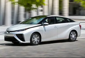 Toyota Launches Its New-Generation Hybrid Toyota Mirai in Quebec.
