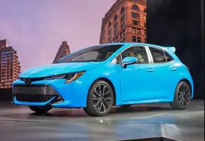 La toute nouvelle Corolla Hatchback 2019