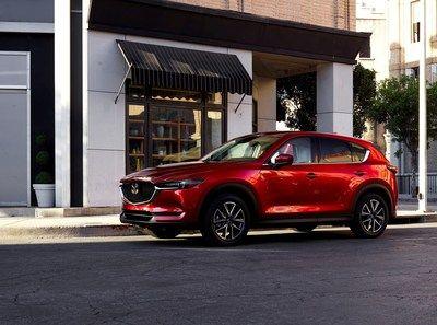 2017 Mazda CX-5 makes Canadian debut in Toronto