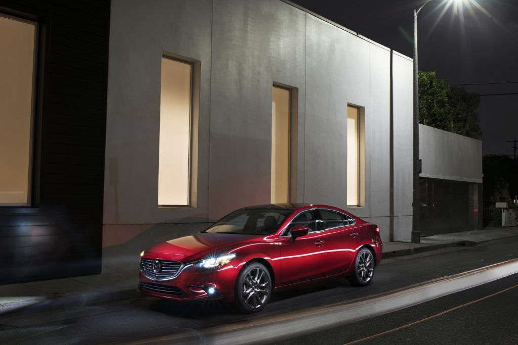 Mazda6 midsize sedan celebrates 15th anniversary