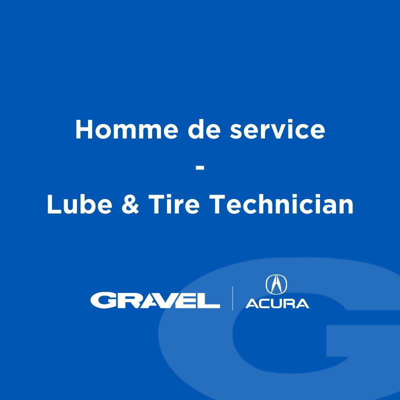 Préposé.e au service | Gravel Acura