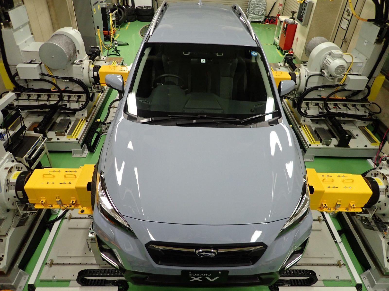 La technologie au service du développement des voitures Subaru