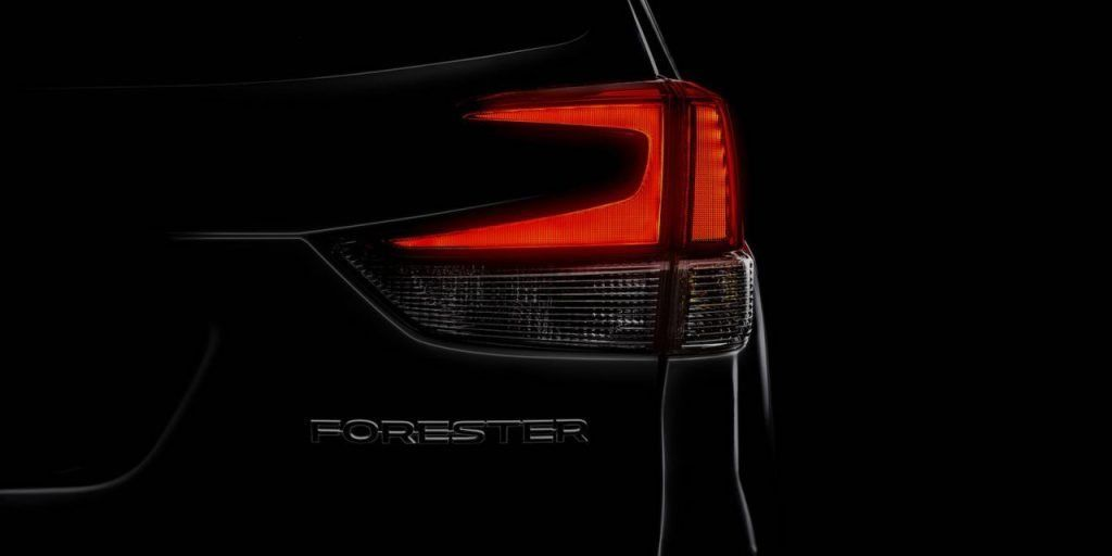 Le nouveau Subaru Forester 2019 à New York