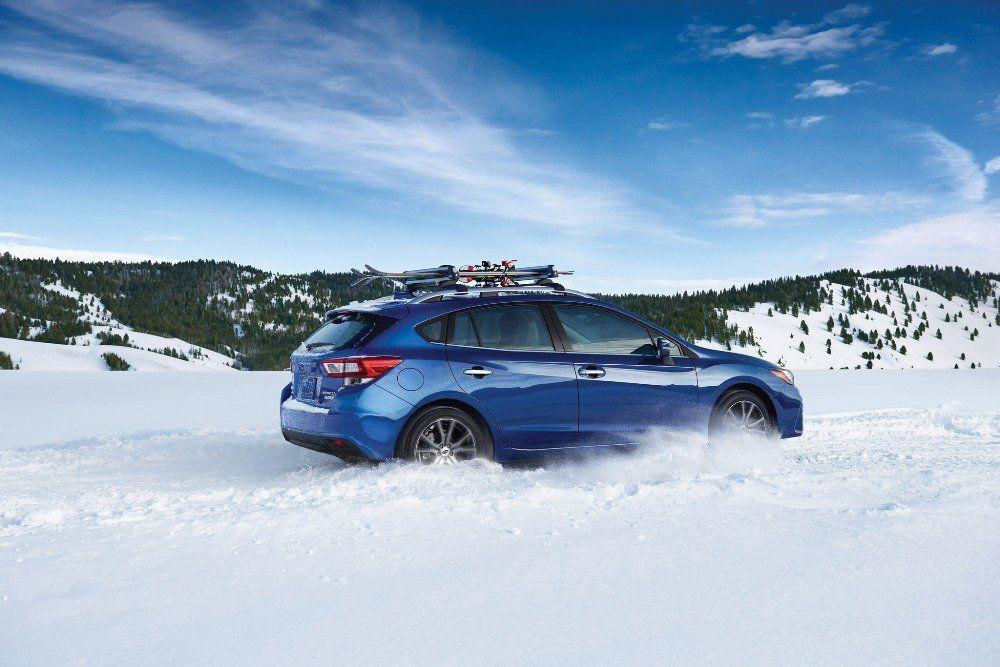 Conduire une Subaru, encore plus en hiver