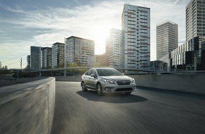Subaru modernise la Legacy 2018