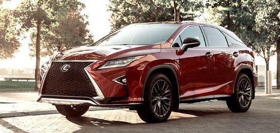 The 2019 Lexus RX Shows Leadership in Style, Luxury, Value and Tech
