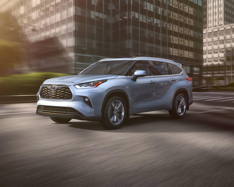 Coup d'œil sur le Toyota Highlander 2020