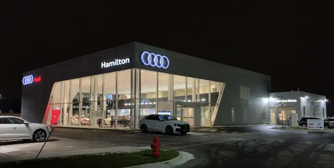 Audi Hamilton overview