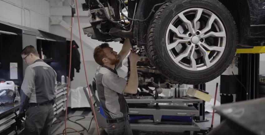 Audi Hamilton after-sales department