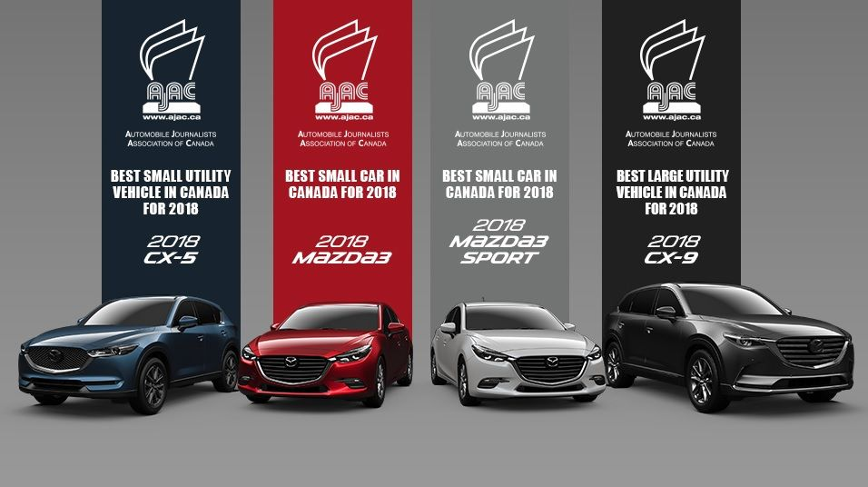 A Passion for Consistency and Quality Triumphs: Mazda Wins Three Top AJAC Awards.
